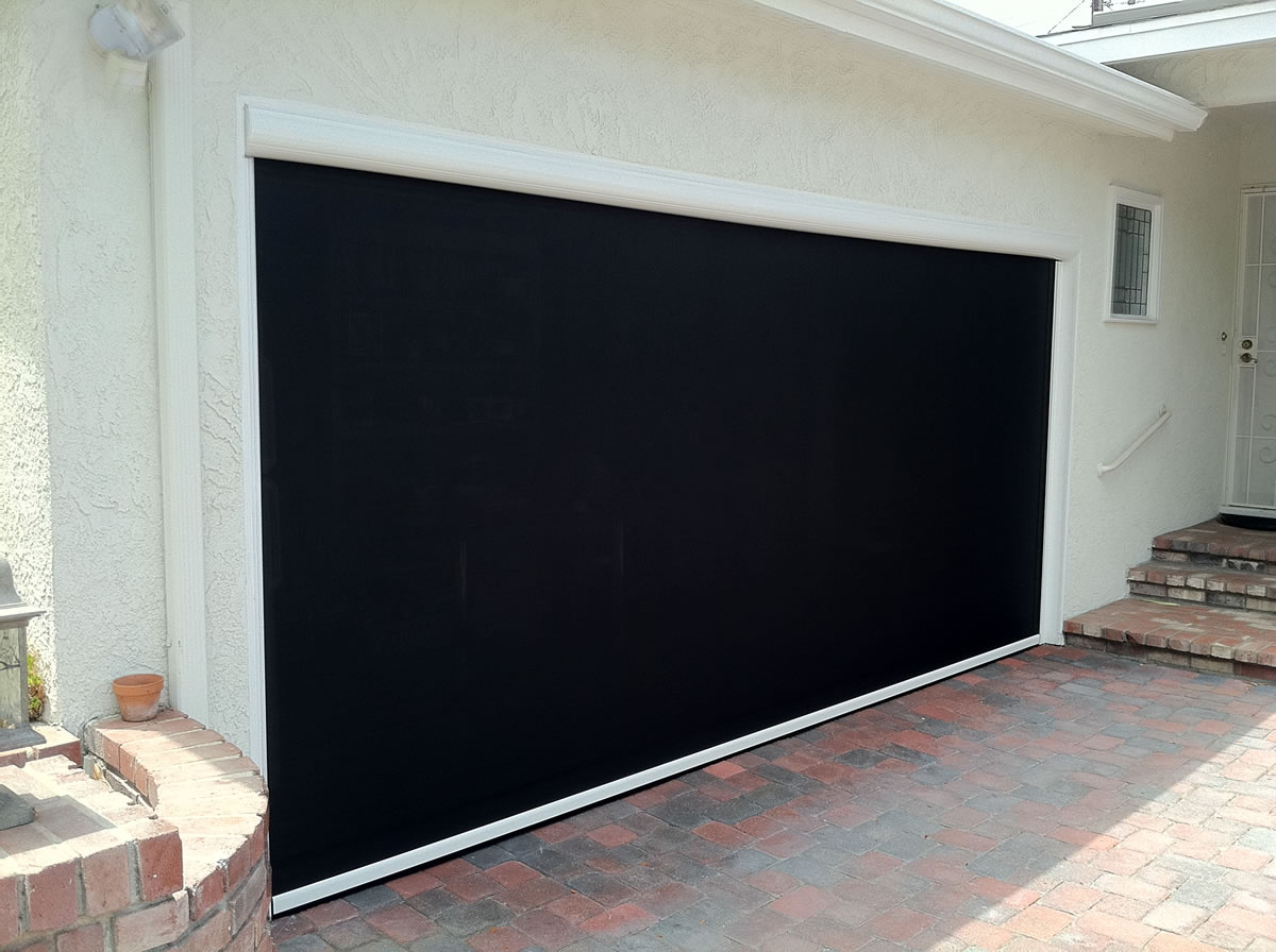 motorized retractable solar screens for patios windows and doors palm coast fl