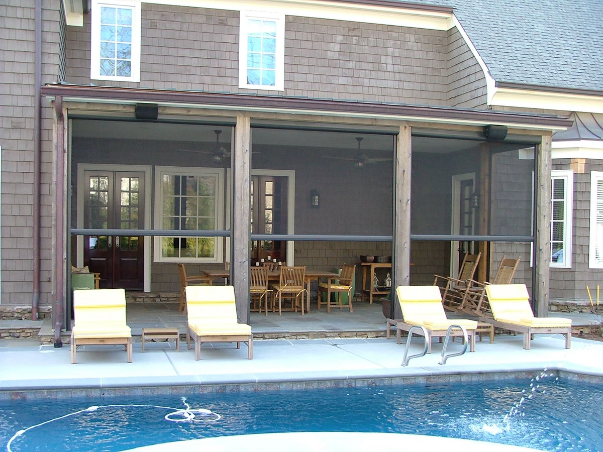 Perfect Motorized Retractable Solar Screens For Patios, Windows And Doors   Palm  Coast, FL