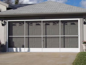 Sliding Garage Door Screens From Killian S Of Palm Coast Fl
