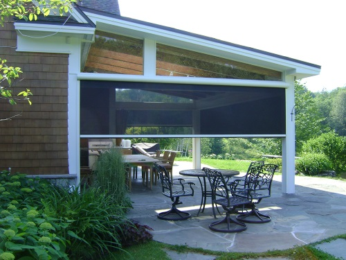 Motorized Retractable Screens In Palm Coast Amp Ormond Beach
